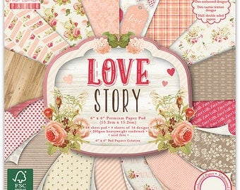 "64 papers ""First Edition"" two pockets 15.2 cm LOVE STORY"