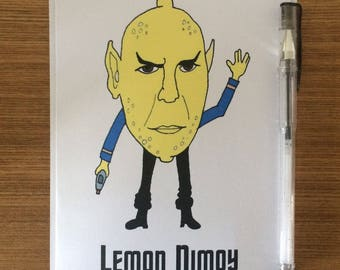 Leonard Nimoy / Lemon Nimoy / Spock / Star Trek - Birthday Greetings Card