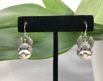 Totoro earrings-studio ghibli earrings
