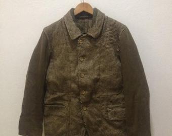 ON SALE 20% Vintage Y's For Men Yohji Yamamoto Jacket Coat Limi Feu Bis Rei Kawakubo Junya Watanabe Issey Miyake Rare