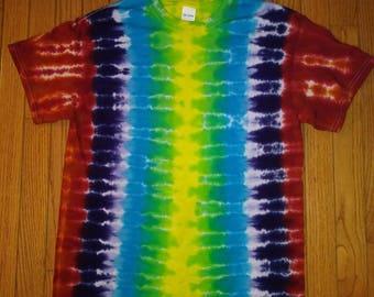 Med. Rib cage tie dye t-shirt