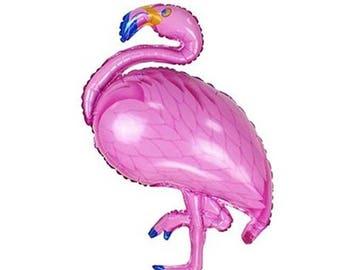 Flamingo Foil Balloon Flamingo Balloon for Party Decor | Mylar / Foil