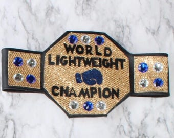World Championship Title Belt