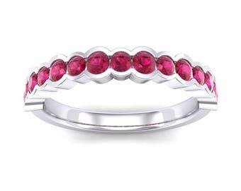 Channel-Set Ring, Channel-Set Ruby, Channel-Set Wedding, Contoured Ruby Ring, Contoured Ring, Channel-Set Ruby Ring, Channel-Set