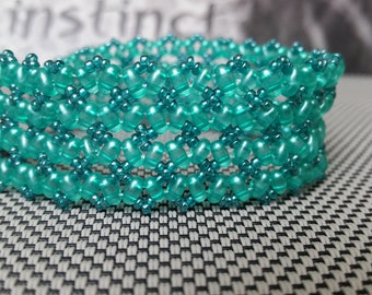 The Tangier twinsbead beaded bracelet