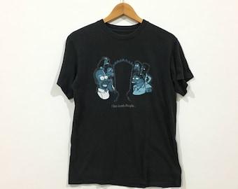Rare !!! The simpsons//bart simpsons black colour tshirt