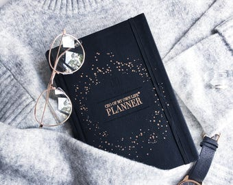 CEO of My Own Life® Planner | Undated Weekly Agenda | Diary | Organiser | Black -