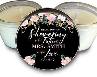 Bridal Shower Favors // Bridal Shower // Bridal Party Gift // Bride // Bridal Brunch //  Set of 6 - 4 oz The Gold Rush I Theme