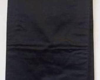Genuine Japanese Kimono Obi - Plain Black