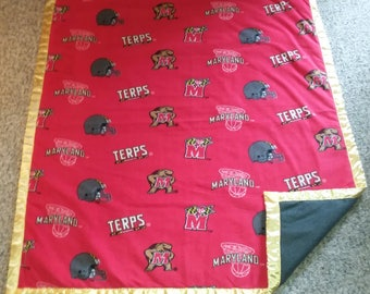Maryland Terps Blanket