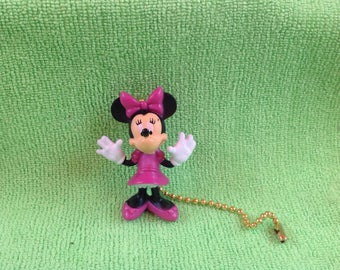 Handmade Minnie Mouse Ceiling Fan Pull Light Lamp Chain Decoration-Minnie Mouse
