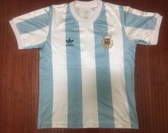 Vintage Argentina Replica Jersey FIFA World Cup 1990-Diego Maradona No 10-Size S
