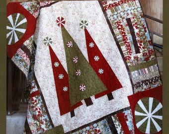 Step Into Christmas Quilt Pattern