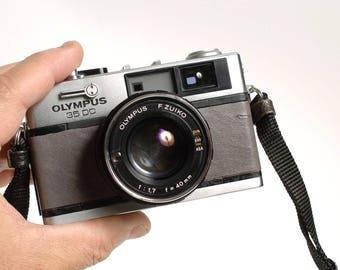 OLYMPUS 35 DC - Rangefinder Camera street photography! Custom Grey leather!