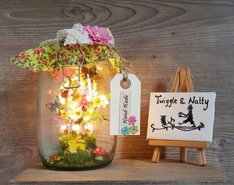 Spring Meadow Light Jar