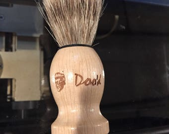 Custom Engraved Shaving Brush -- Engraving Only