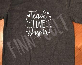 Teacher tshirt, back to school shirt, tshirt for teacher