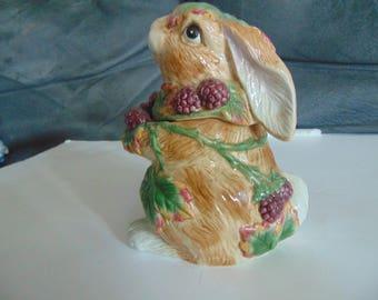 fITZ M and  Floyd  Blackbury Rabbit  covered box