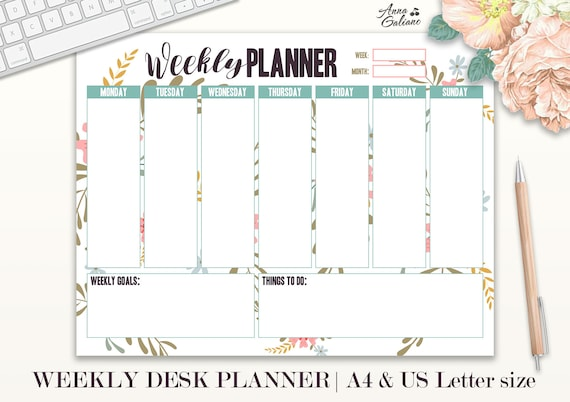 weekly planer