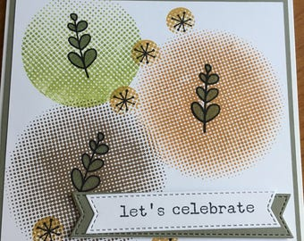 Let's Celebrate/Friends Card