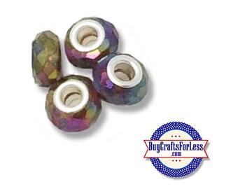 Acrylic BEADs,rainbow, 8 or 25 pcs  +FREE SHiPPing & Discounts*