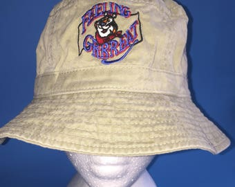 Vintage frosted flakes Tony the tiger bucket hat size large XL 1990s cereal cold milk