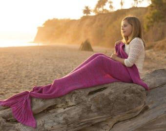 Mermaid Tail Blanket in 3 colors