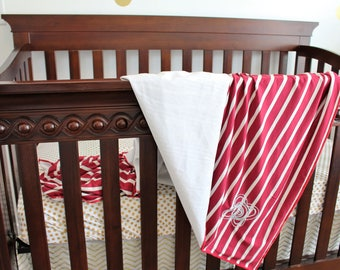 "Dreamy Minky & Knit Cuddle Blanket 48"" x 48"""