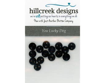 Hillcreek Designs - You Lucky Dog Button Pack - 15 Button Pack
