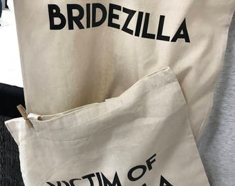 Bridezilla and Victim Bag