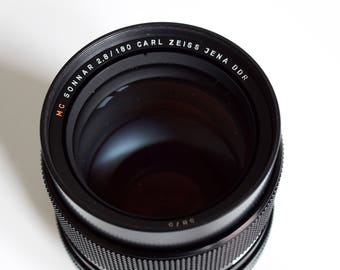 Carl Zeiss Jena DDR, lens for Rolleiflex SL66, NC Sonnar 2.8 / 180mm