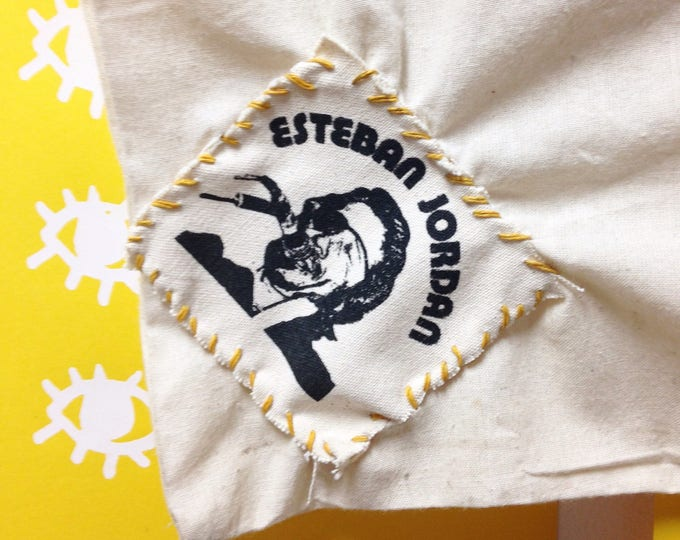 "Esteban ""Steve"" Jordan canvas patch"