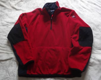 Vintage XL Tommy Hilfiger Cold Stop performance fleece sweatshirt