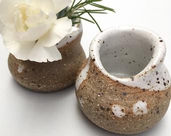 Handmade ceramic bud vase, ceramic vase, pottery gift