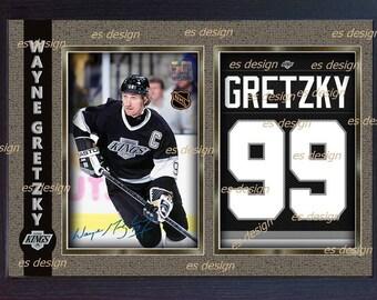 Wayne Gretzky LA Kings Autograph signed NHL Framed