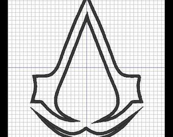 Assassin's Creed design (appliqué)