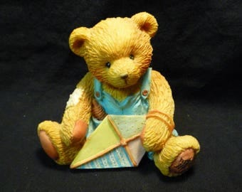 Cherished Teddies Mark March Bear Friendship Is In The Air 914770 Boxed