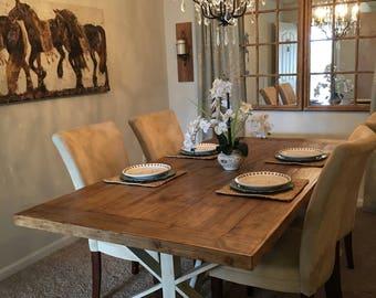 Custom Wood Farm Table