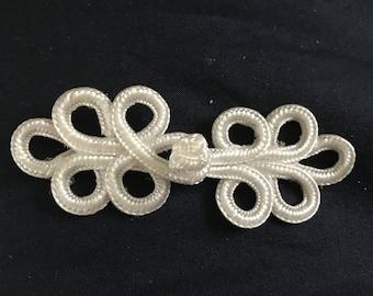Brandenburg 8 * 3 cm white clip