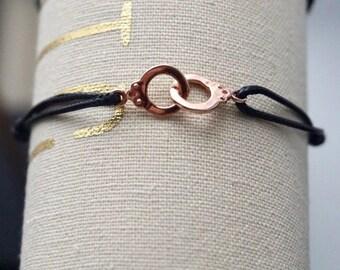 Rose gold plated Cuff Bracelet
