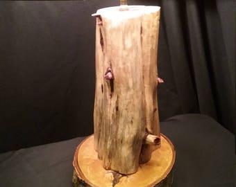 Cedar Log Lamp 01