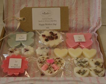 Hearts & Flowers - Mothers Day  Scented Wax Melt Letterbox
