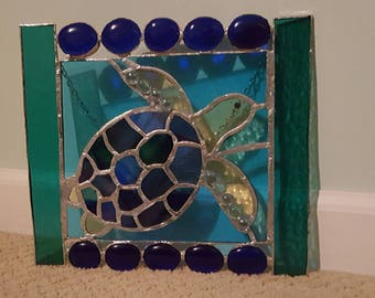 Stained Glass Window Hang