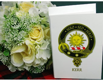 Greeting Cards Clan & Crest - Kerr