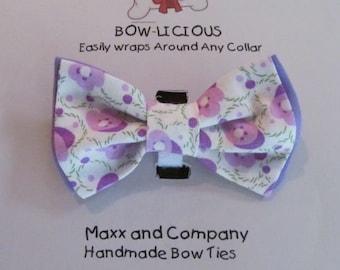 Dog Bow Tie / Spring Dog Bow Tie / Small Dog Bow Tie / Cat Bow Tie / Dog Collar Bow / Dog Bow