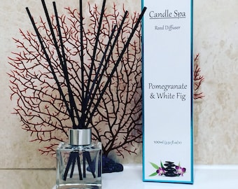 Pomegranate & White Fig 100ml Reed Diffuser
