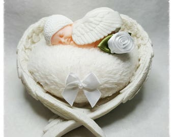 Handmade Angel's Embrace Ornament