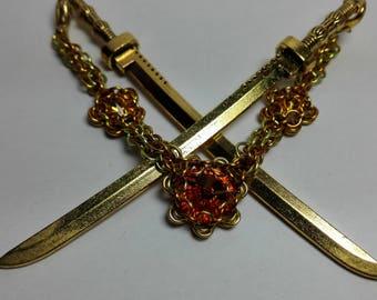 Hair Jewelery Yellow/Orange