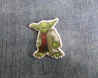 Handmade Star Wars Yoda Movie Jedi Master George Lucas Pin Badge