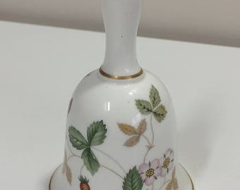 Wedgwood Wild Strawberry Bone China Bell England